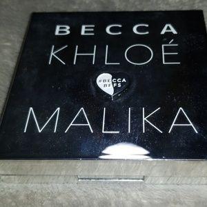 Becca × Khloe Malika face flow palette